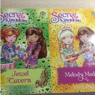🚚 PROTECTIVE WRAPPING SERVICE AVAILABLE      !!NEW & Used CONDITION    !!      Secret Kingdom - Jewel Cavern & Melody Medal      By Rosie Banks