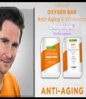 NATURACENTIALS OXYGEN BAR ANTI-AGING & WHITENING SOAP