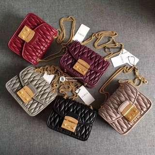 NEW✨Furla Metropolis Quilted Nappa Leather - colour's selection