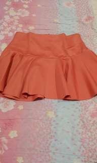 REPRICED!Plaid Skirt
