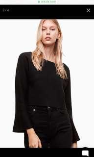 Aritzia Franks Sweater in Black Size Small