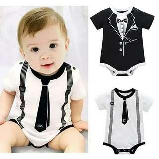 Toddler Infant Kids Baby Girl Boy Print Clothes Casual Bodysuit Playsuit Jumpsuit Short Sleeve Baby Bodysuits School Syle