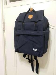 🚚 一帆布包 重磅帆布包 後背包 大學生書包 文青背包 電腦背包