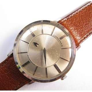 Longines Mystery Unusual Men's Watch from 50's