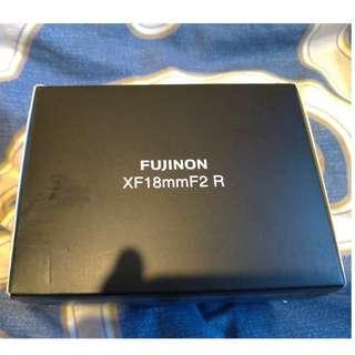 Fuji Lens XF 18mm F2 R