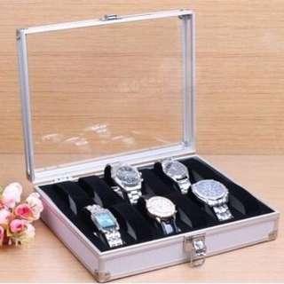 10 Aluminium Watch Case