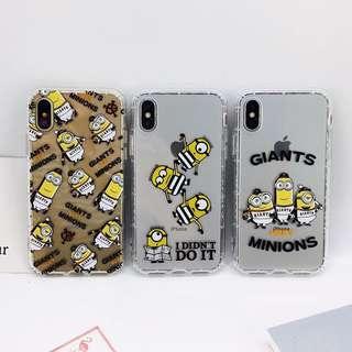 [Pre-Order] Minions Silicone Transparent Phone Cover