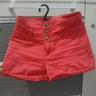 Hotpants Highwaist / Celana pendek