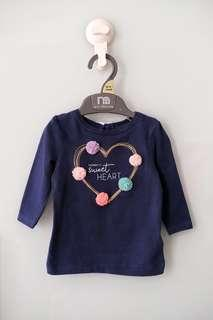 Carters Tshirt 1-3 month