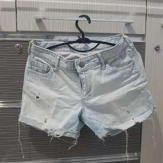 Hotpants Jeans ripped