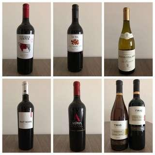 Red/White Wines Assortment
