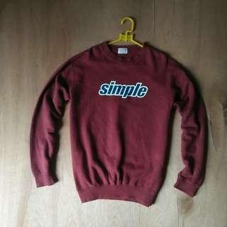 Sweater Simple
