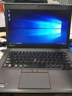 Lenovo thinkpad T450 ultrabook