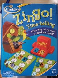 Zingo Time-Telling Game