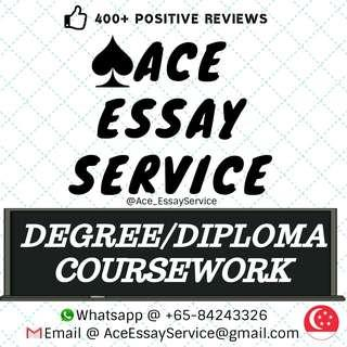 Degree / Diploma Coursework 🌍🎖️💯        Essay Assignment