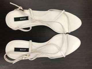 Bally shoes in white