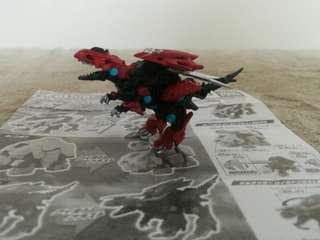 Zoids Wild Gilraptor Gashapon Figure