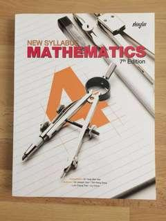 NEW SYLLABUS MATHEMATICS 4 - 7TH EDITION
