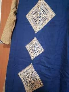 Turquoise Kurta Dress BN