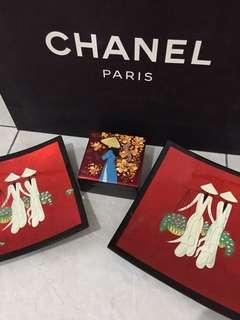 New! pajangan piring cantik n box perhiasan (1set)