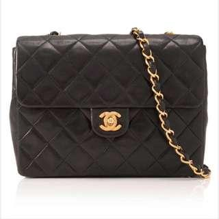 8acb3c6ecd69 Vintage Pre-owned Chanel Lambskin Leather Flap Crossbody (Price Reduced And  Firm!