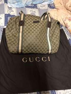 Gucci 手袋 側袋 奶粉袋 70 % 新 特別色