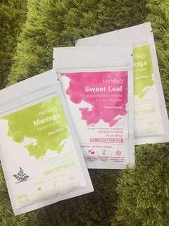 Take All Herbilogy Sweet Leaf dan Moringa 20gr