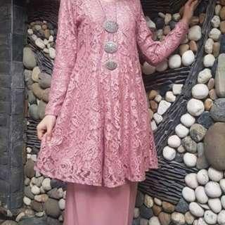 Baju Kurung Riau Lace