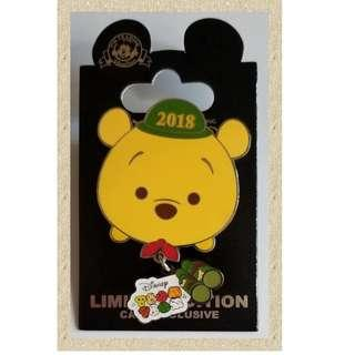 Disney Cast Exclusive Pin Winnie the Pooh 迪士尼 徽章 小熊維尼 LE600