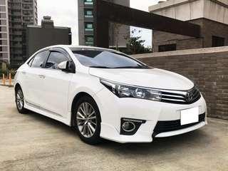 16年 豐田 altis 1.8 💢S版 友人出售 一手車全車原版件 跑ㄧ萬多 line:loveyou5203000萱