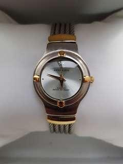 Authentic Anne Klein watch for ladies with stainless steel bracelet