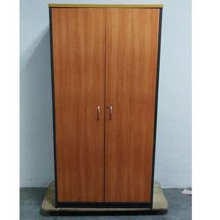 A  two doors office cabinet