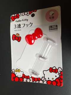 Hello Kitty 3 Hook Rack