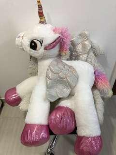 Giant rainbow unicorn brand new!