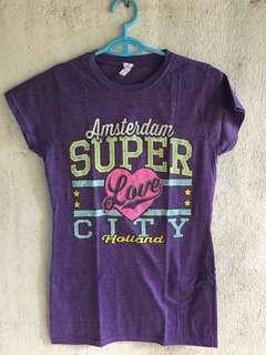 Amsterdam Souvenir Shirt