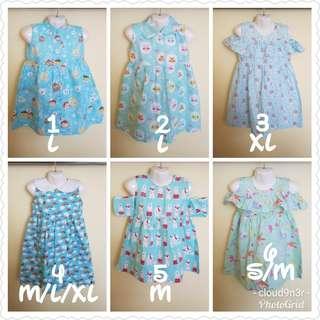 *12.12 Sale* Assorted Premium Handmade Dresses @$8.50 ONLY