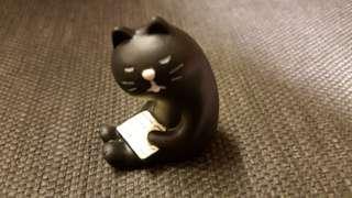 🚚 打瞌睡小黑貓
