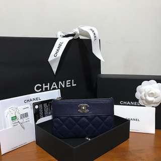Chanel Mini O Case Sheepskin