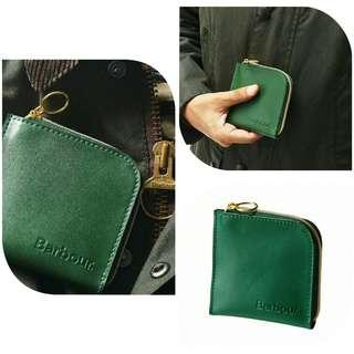 🎄Christmas gift: BN British Barbour Leather Wallet