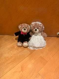結婚公仔 小熊公仔