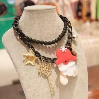 🚚 Korean Style Christmas Accessories Necklace - Design 2