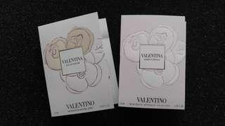 Valentino natural spray sample size