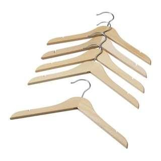 (Rent) Kids Wooden Hangers