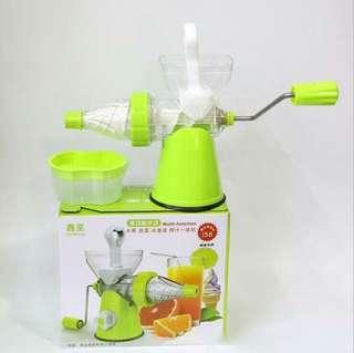 Portable High Quality Home Juicer Fruit Squeezer 100% Health