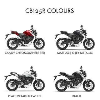Brand New Honda CB125R ABS