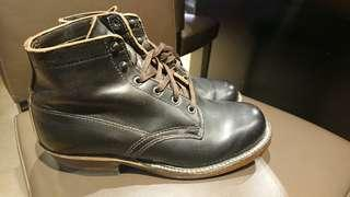 White's boot semi dress black chromeexcel US8 (not alden trickers viberg)