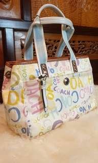 Coach Handbag auth multicolor