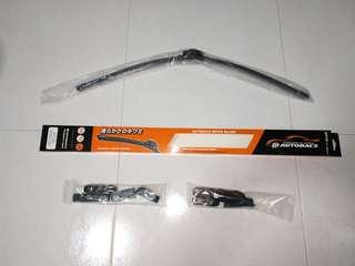 "1 x brand new 26"" car wiper from autobacs with 8 multi adaptors and free delivery"