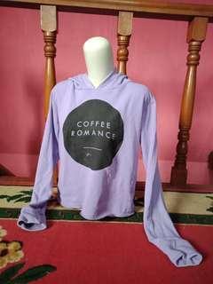 Sweater purple coffe romance