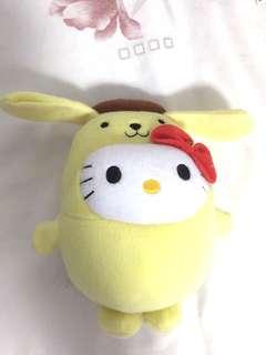 🚚 Pompompurin Hello Kitty Soft Toy